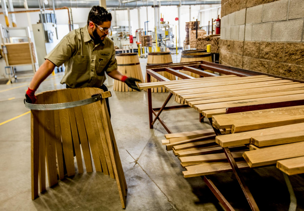 choosing barrel staves